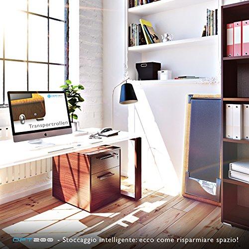 Sportstech Tapis Roulant Scrivania dft200 DeskFIT con App, Telecomando, Supporto Tablet I Tapis Roulant Bluetooth per Casa e Ufficio I Tapis Roulant Elettrico Professionale Pedana Elettrica - 1