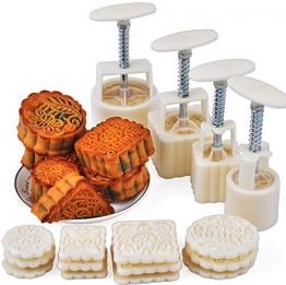 Stampini manuali a pressione per cuocere torte e biscotti di Natale, 12timbri, Xshelley - 1