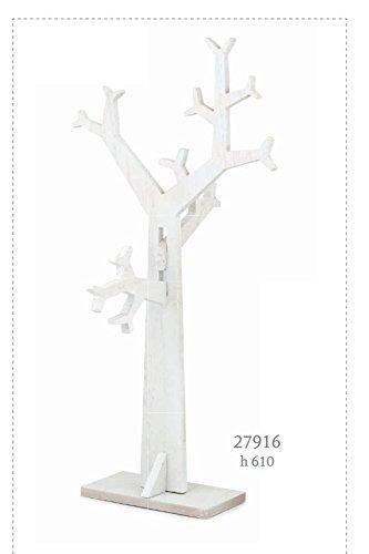Subito disponibile Albero della vita in legno sbiancato SHABBY CHIC allestimento tableau ma - 1