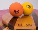 S|W Racchette Collezione (Nero) | Beach-Tennis con rapidi Rally | Fatto a Mano da Legno - 1