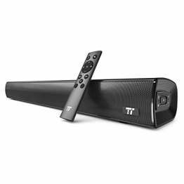 TaoTronics TV Soundbar Bluetooth 4.2 25 pollici con Pulsanti e Telecomando Wireless and Wired Doppia Connessione Possibilità di Montaggio a Muro - 1