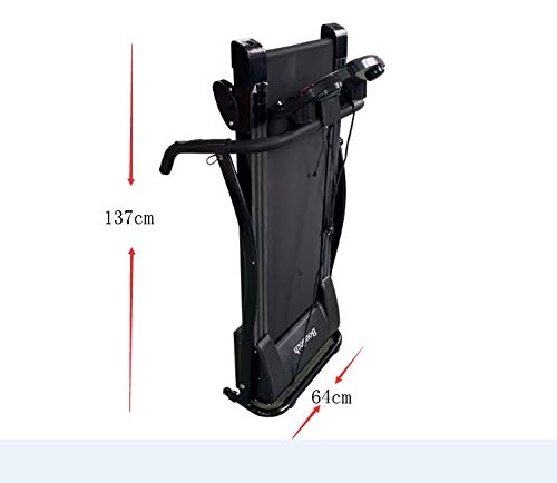 Tapis roulant con Motore Elettrico 1100W 1,5HP Tappeto da Corsa Pieghevole e Compatto con impianto Audio MP3, sensori cardiaci e Software Allenamento *TAPISROUNERO* - 1