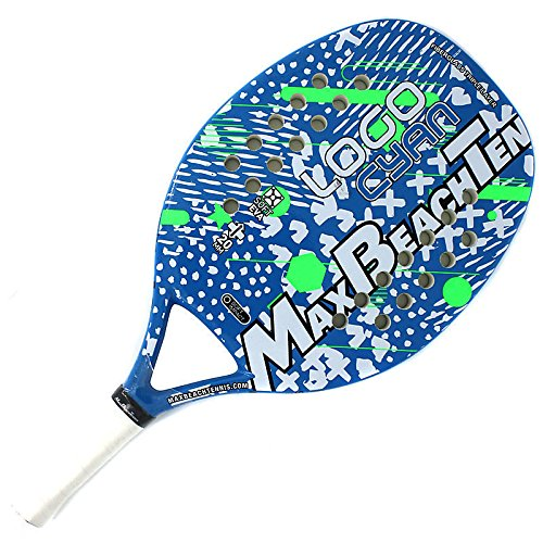 Tom Caruso Racchetta Beach Tennis Racket MBT Logo Cyan 2018 - 1