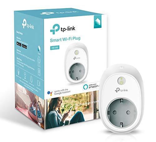 TP-Link Presa Wi-Fi HS100, Smart Plug Compatibile con Alexa e Google Home, Controllo dei Dispositivi Ovunque Mediante Kasa App, Nessun hub esterno necessario - 1