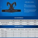 Unigear Correttore Postura, Regolabile Spalla Indietro Vita Cintura di Support per Uomo e Donna (Nero M) - 1