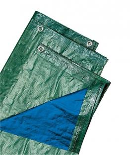 VERDELOOK, Biacchi Ettore 54073 Telo Blu, 4X 6 Occhiellato, 100 g, Verde - 1