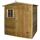 vidaXL Casetta da giardino in legno di pino impregnato 1,5 x 2 m - 1