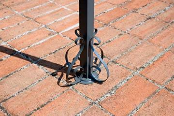 vorghini Pergola da Giardino in Ferro 4X3m Chains Sabbia - 5
