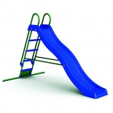 WAC SCIVOLO da Giardino in Plastica per Bambini con Solida Struttura in Metallo 5 Gradini. Dimensioni 285 x 150 x 168 cm. - 1