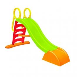 WAC SCIVOLO da Giardino per Bambini Con Innesto Acqua, Struttura in Plastica Composto da 5 Gradini. Dimensioni 180x78x110 cm. - 1
