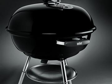 Weber, 1321004, Barbecue Compatto a Carbone, 57 cm, Nero - 5