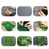 """Xiaolin Recinzione Artificiale Privacy Screen Evergreen Hedge Panels Fake Plant Wall 20""""X20 Decorazione del Giardino di casa (Colore : 05) - 1"""