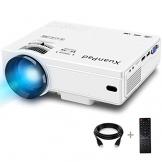 XuanPad Mini Proiettore, 55000 ore Portatile Videoproiettore Home Theater Proiettori - 1