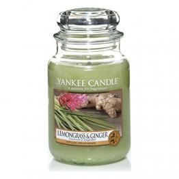 Yankee Candle Candela Grande Vaso, Citronella e Zenzero - 1