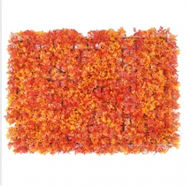 YNFNGXU Fiore Muro 40x60 Cm Recinzione Artificiale Anti-UV Scherma Privacy Recinzione Verde Piantare All'aperto Casa Giardino Decorazione di Nozze (Colore : E) - 1