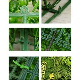 YNFNGXU Pannello A Siepe Artificiale 40X60CM, Protezione UV Decorazione da Parete per Interni Ed Esterni False Hedge (Colore : G.) - 1
