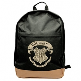 ABYstyle- Harry Potter Zaino Hogwarts Logo, Colore Black, 42x31x14 cm, ABYBAG178 - 1
