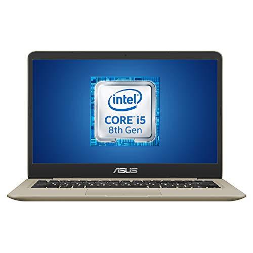 """ASUS Vivobook A411UA-EB1155T, Notebook con Monitor 14"""" FHD No Glare, Intel Core i5-8250U, RAM 8 GB DDR4, SSD da 256GB, Scheda Grafica Condivisa, Windows 10 - 1"""