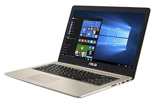 """Asus VivoBook Pro Notebook, 15.6"""" 4K/UHD IPS, Intel Core i7-7700HQ, RAM 16 GB, HDD da 1TB e SSD da 512 GB, NVidia GTX1050 [Layout Italiano] [Italia] - 1"""