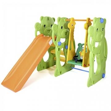 BABY VIVO - Altalena per bambini con struttura per interni ed esterni, Giungla - 2