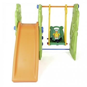 BABY VIVO - Altalena per bambini con struttura per interni ed esterni, Giungla - 3