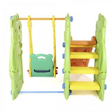 BABY VIVO - Altalena per bambini con struttura per interni ed esterni, Giungla - 5