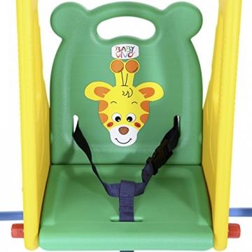 BABY VIVO - Altalena per bambini con struttura per interni ed esterni, Giungla - 8