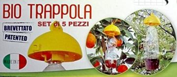 BERNIGROUP 5 Tappi Bio Trappola Ecologica e Selettiva Brevettato e Made Un Italy - 4