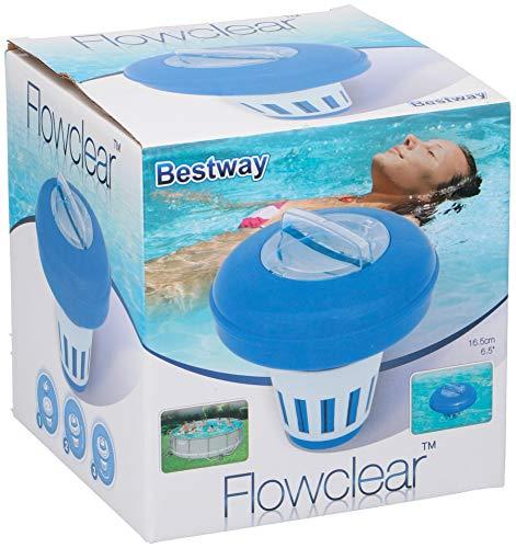 Bestway 58071 Dosatore di cloro galleggiante per piscine fuoriterra Bestway - 1