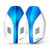 Blisso Repellente ad Ultrasuoni Elettromagnetico Efficace, Elettrico Repeller Ultrasonico Contro Zanzare Tropicali Topi Parassiti Ratti Mosche Scarafaggi Ragni(2 Pack) - 1