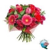 Bouquet rosso - Consegna in Italia.