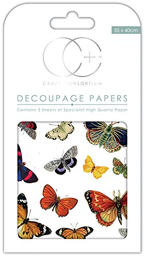 Craft Consortium Premium decoupage–Flutter delle farfalle - 1