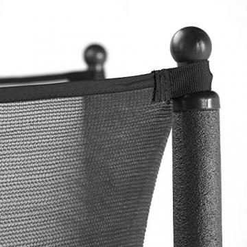 CZON SPORTS trampolino, 250 cm tappeto elastico con rete di sicurezza, verde|trampolino elastico da giardino|trampolino bambini - 3