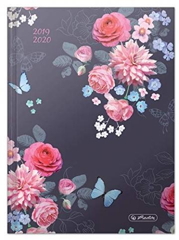 Diario scolastico Basic Flowers 2019/20, A5, calendario settimanale, 1 pezzo - 4