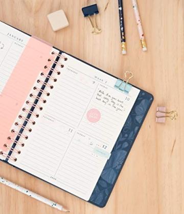 Erik® - Agenda Premium con Planner Settimanale 2019/2020, 17 mesi, 16,5x20 cm - Anna Rolskaya - 7