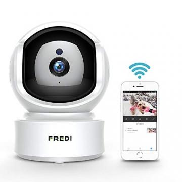 FREDI 1080P HD Telecamera Sorveglianza Wi fi Videocamera sorveglianza Wireless Wifi IP Camera Telecamera wi-fi Interno senza fill Audio Bi-Direzionale Baby Crying Detection Cam Videosorveglianza - 11