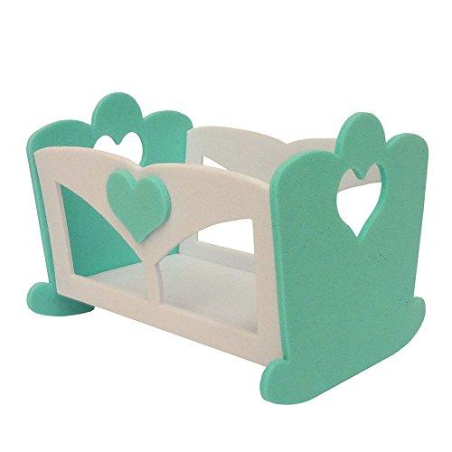 Fustella Artigianale per Feltro Standard - Culla Baby cod. DF171201 - 1