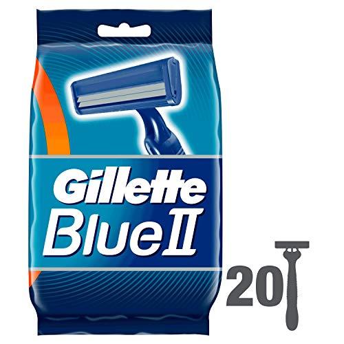 Gillette, Blu II, Set di rasoi usa e getta, 20 pz. - 1