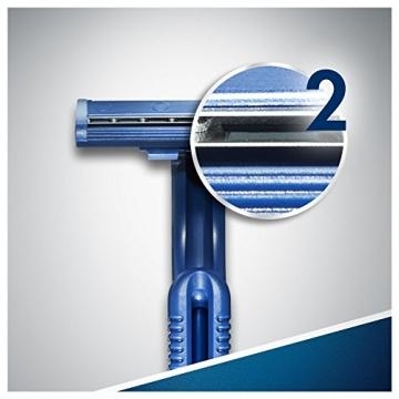 Gillette, Blu II, Set di rasoi usa e getta, 20 pz. - 3
