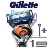 Gillette Fusion Proglide Flexball Rasoio da Uomo, 1 Manico + 1 Lametta, 5 Lame di Precisione, Compatibile con Tutte le Testine di Ricambio Fusion - 1
