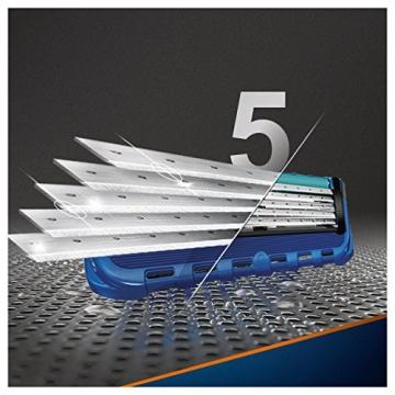 Gillette Fusion Proglide Flexball Rasoio da Uomo, 1 Manico + 1 Lametta, 5 Lame di Precisione, Compatibile con Tutte le Testine di Ricambio Fusion - 3