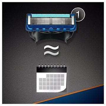 Gillette Fusion Proglide Flexball Rasoio da Uomo, 1 Manico + 1 Lametta, 5 Lame di Precisione, Compatibile con Tutte le Testine di Ricambio Fusion - 5
