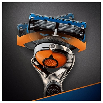 Gillette Fusion Proglide Flexball Rasoio da Uomo, 1 Manico + 1 Lametta, 5 Lame di Precisione, Compatibile con Tutte le Testine di Ricambio Fusion - 7