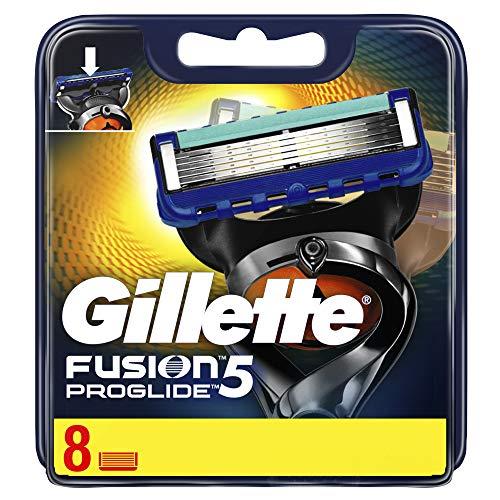 Gillette Fusion Proglide Lame per rasoi da uomo - 8 lame - 1