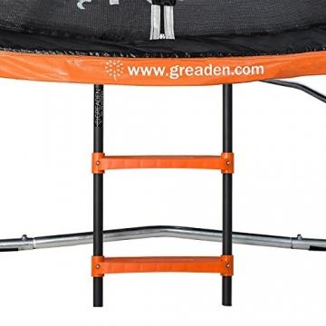 GREADEN Freestyle Round Garden Trampoline