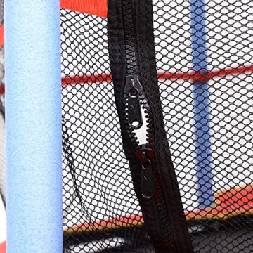 homcom Trampolino Elastico con Rete di Sicurezza Bambini Giardino Diametro 140cm - 6