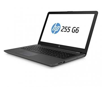 HP 255 G6 Notebook PC, Sistema operativo Windows 10 Pro 64, APU AMD A6-9225, 8 GB di RAM, SSD da 256 GB, Schermo 15,6