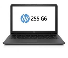 "HP 255 G6 Notebook PC, Sistema operativo Windows 10 Pro 64, APU AMD A6-9225, 8 GB di RAM, SSD da 256 GB, Schermo 15,6 "" FHD Antiriflesso, Nero - 1"