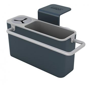 Joseph Joseph Sink Aid Organizer per Lavello della Cucina, Plastica, Grigio - 1