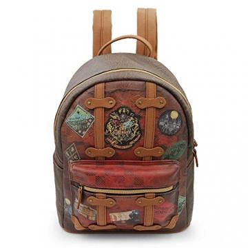Karactermania Harry Potter Railway-Fashion Backpack Zaino Casual, 31 cm, 13 liters, Marrone (Brown) - 2